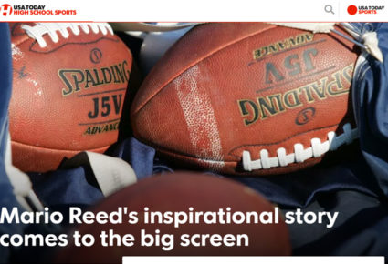 Mario Reed's inspirational story comes to the big screen